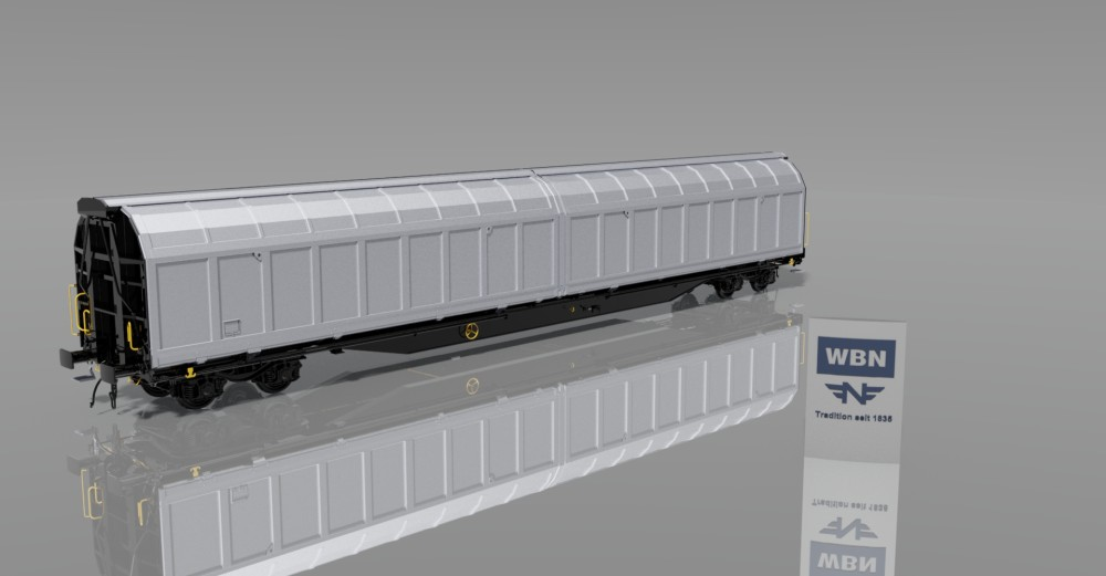 4-axle sliding-wall car Habbii(ll)ns