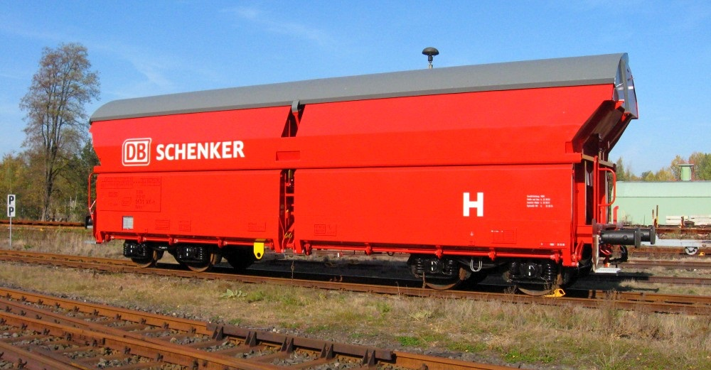 4-axle self-discharging wagon Talns